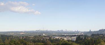 Free Johannesburg City Skyline Royalty Free Stock Photos - 39126128