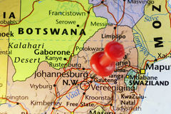 Johannesburg former capital city of South Africa Royalty Free Stock Photos