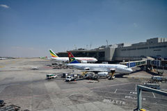 Johannesburg International Airport Royalty Free Stock Image