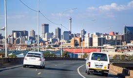 Johannesburg linia horyzontu obraz royalty free