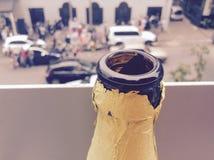 Johannesburg Maboneng Precent Arkivfoton