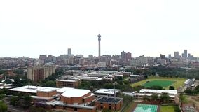 Johannesburg-neues Stadion 2 stock video footage