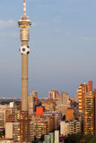 Johannesburg, South Africa - 2010 World Cup Host C. View of the Johannesburg Skyline in South Africa - 2010 Football/ Soccer World Cup host City royalty free stock image