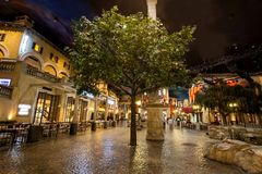 Montecasino in South Africa. stock photo
