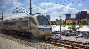 Gautrain station near Pretoria. royalty free stock images