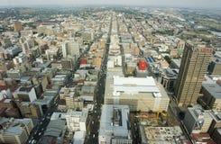 Johannesburga w powietrzu Zdjęcia Stock