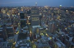 Johannesburga w powietrzu obrazy royalty free