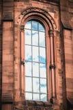 Johanneskirche教会的建筑细节在弗赖堡,德国 库存图片