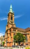 Johanneskirche Church in Dusseldorf, Germany Royalty Free Stock Photography