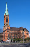 Johanneskirche (St. John's Church) in Dusseldorf Royalty Free Stock Photo