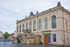 Johanneum Museum of Transport in Dresden in Germany Stock Photo
