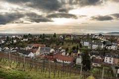 Johannisberg. Small town in Rheingau, Germany Royalty Free Stock Image
