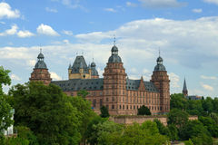 Johannisburg Castle, Ασάφενμπουργκ Στοκ Εικόνες