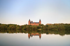 Johannisburg castle  in Aschaffenburg Stock Images