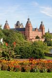 Johannisburg Castle in Aschaffenburg, Germany Royalty Free Stock Photography