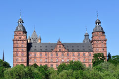 Johannisburg castle in Germany Stock Image
