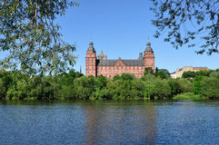 Johannisburg castle in Germany Royalty Free Stock Images