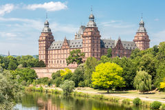 Johannisburg  Castle  Germany Stock Image