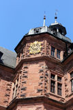Johannisburg palace in Aschaffenburg, Germany Royalty Free Stock Images