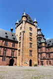 Johannisburg palace in Aschaffenburg, Germany Royalty Free Stock Photos