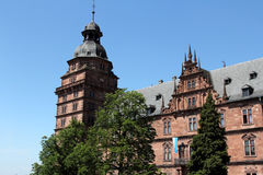 Johannisburg palace in Aschaffenburg, Germany Stock Image