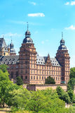 Johannisburg palace in Aschaffenburg on Main Stock Photo