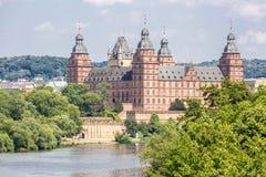 Johannisburg palace Royalty Free Stock Photo