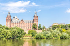 Johannisburg palace Stock Photo