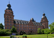 Johannisburg Palace and Gardens Royalty Free Stock Image