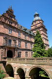 Johannisburg Palace and Gardens. / Bavaria Royalty Free Stock Image