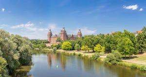 Johannisburg palace panorama Royalty Free Stock Photo