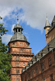 Johannisburg Palast und Gärten lizenzfreies stockfoto