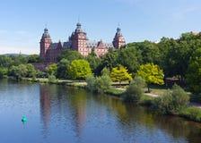 johannisburgschloss Royaltyfria Bilder