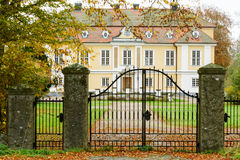 Johannishus-Schloss lizenzfreies stockfoto