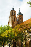 Johanniskirche, or St. John's Church in Goettingen, Germany Royalty Free Stock Image
