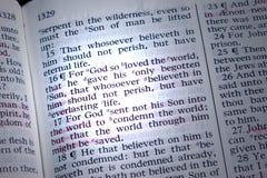 John 3:16 Stock Afbeeldingen