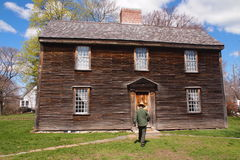 John Adams Birthplace i Quincy, MOR Royaltyfri Bild