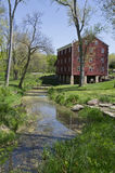 John Adams Mill in Indiana Stock Photography