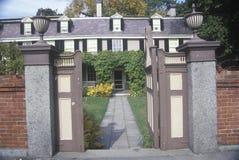 John Adams nationellt historiskt Royaltyfria Bilder