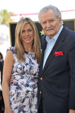 John Aniston, Jennifer Aniston Lizenzfreies Stockfoto