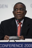 John Atta Mills President of Ghana Stock Photography