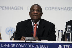 John Atta Mills President of Ghana Royalty Free Stock Photos