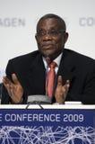 John Atta Mills President of Ghana Royalty Free Stock Image