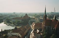 John The Baptist domkyrkakyrka wroclaw Polen Royaltyfria Bilder