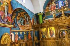 John Baptist Greek Orthodox Church Bethany más allá de Jordania Foto de archivo libre de regalías