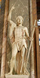 John the baptist - Rome- Santa Maria sopra Minerva Royalty Free Stock Photo