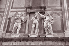 John the Baptist Sculpture by Rustici, Duomo Cathedral Baptistry Royalty Free Stock Images