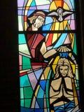 John The Baptist And Holy Spirit Baptizing Jesus