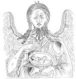 John baptiste illustration de vecteur