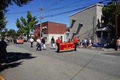 2015 John Basilone Parade 38 Stock Foto's